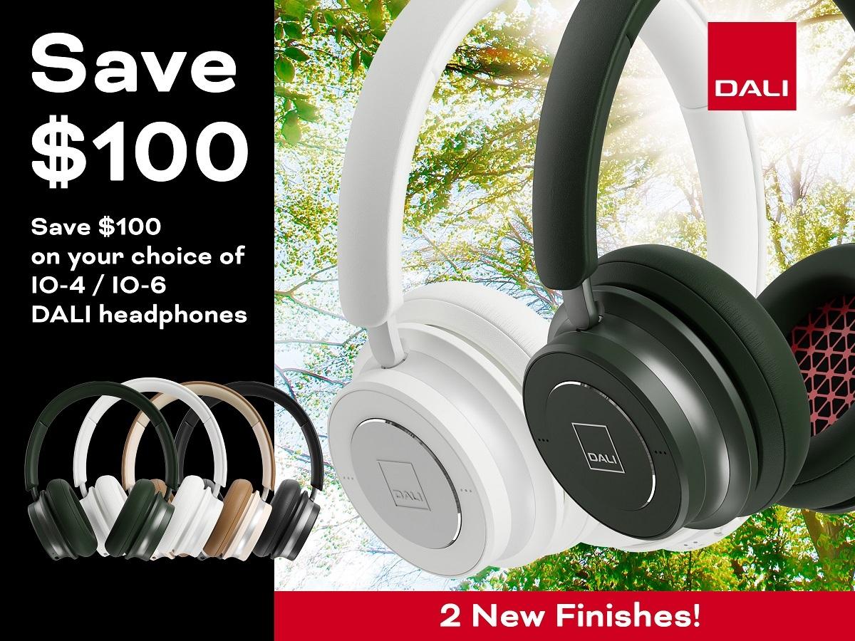 DALI Headphone promo poster